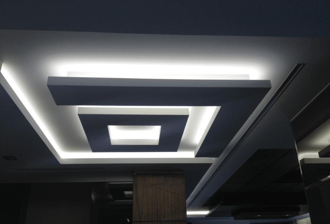 обеспечение дизайн потолка из гкл фото изучить